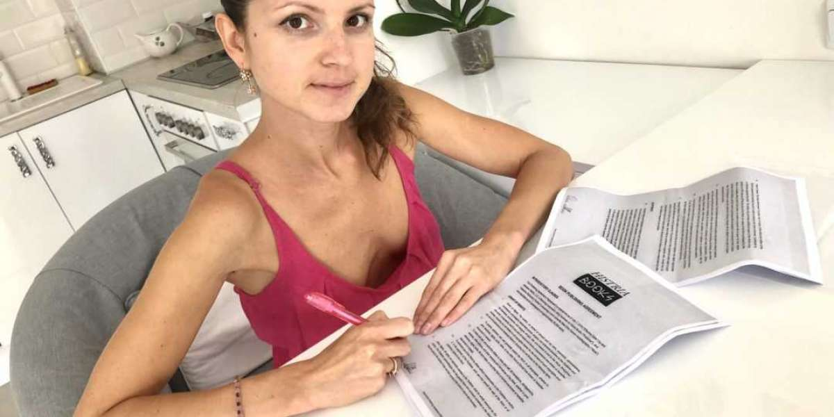 Histria Books  signs Valentina Dzherson (Gina Gerson) to exclusive book contract