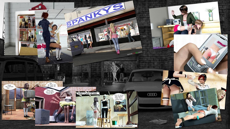 SpankRed 3d Cover Image